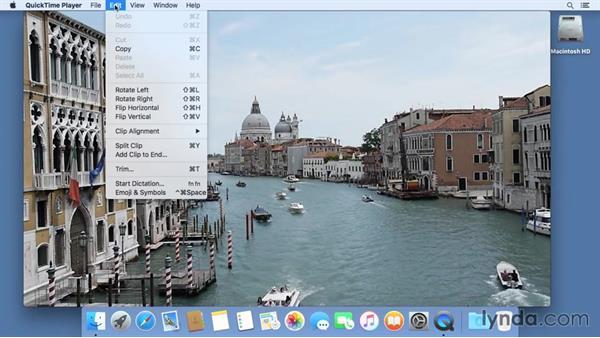 QuickTime: Mac OS X El Capitan Essential Training