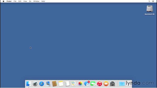 Working with Notifications: Mac OS X El Capitan Essential Training