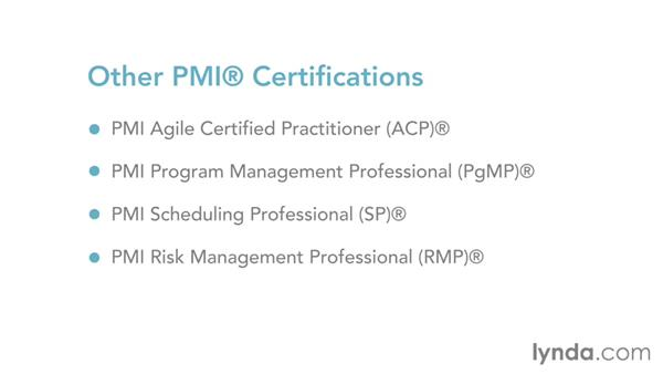 What to do after the exam: Introduction to the Project Management Professional (PMP)® Exam