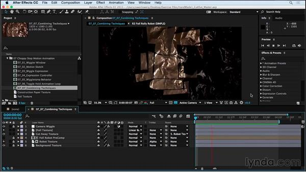 Review and next steps: Creating a Handmade Look in After Effects 01: Paper Cutout and Stop Motion Styles