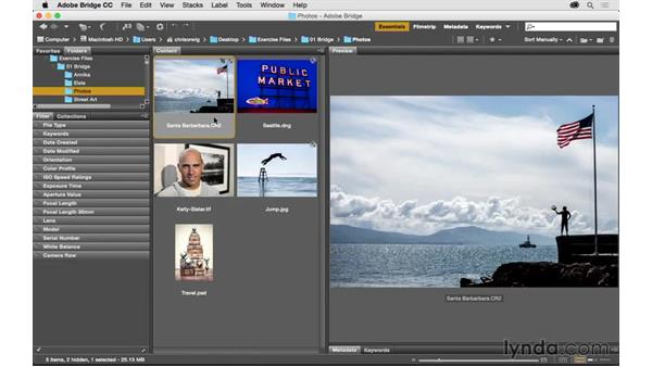 Shortcuts for viewing and opening raw files: Exploring Adobe Camera Raw: Workflow Power Tips
