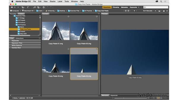 Challenge: Quickly process a group of photos: Exploring Adobe Camera Raw: Workflow Power Tips
