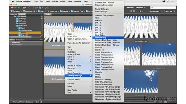 Solution: Quickly process a group of photos: Exploring Adobe Camera Raw: Workflow Power Tips