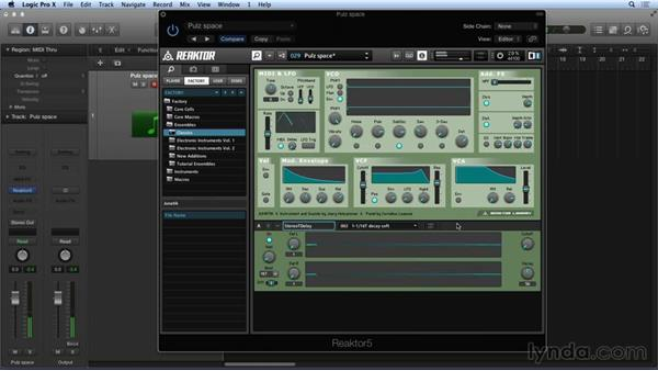 Loading and saving presets and snapshots: Advanced Instruments and Effects In REAKTOR