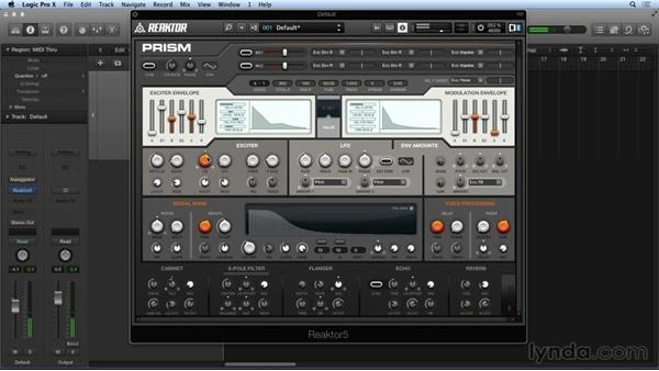 Exploring PRISM's Modal Bank: Advanced Instruments and Effects In REAKTOR