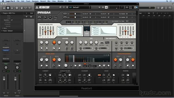 Navigating PRISM's master section and FX: Advanced Instruments and Effects In REAKTOR