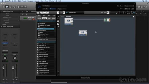 Introduction to programming: Advanced Instruments and Effects In REAKTOR