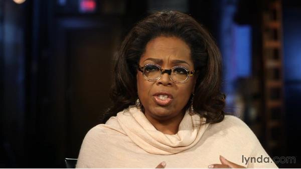Oprah on having a vision: Influencer Interview: Oprah Winfrey
