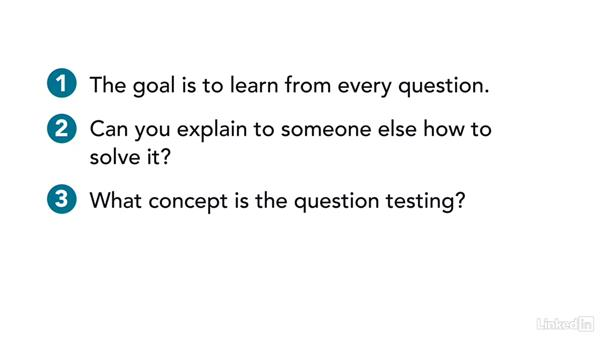 Reviewing questions to raise your performance: Test Prep: ACT