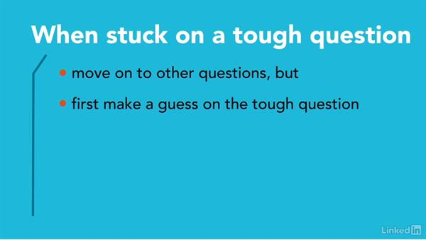 Guessing answers and skipping questions: Test Prep: ACT