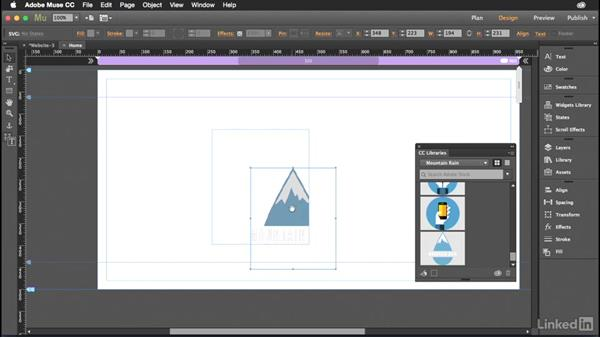Working with SVG graphics in Muse: Muse: 2015 Creative Cloud Updates