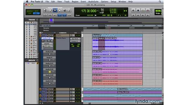 "Recording and ""comping"" using playlists: Pro Tools 8 New Features"