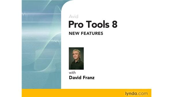 Goodbye: Pro Tools 8 New Features