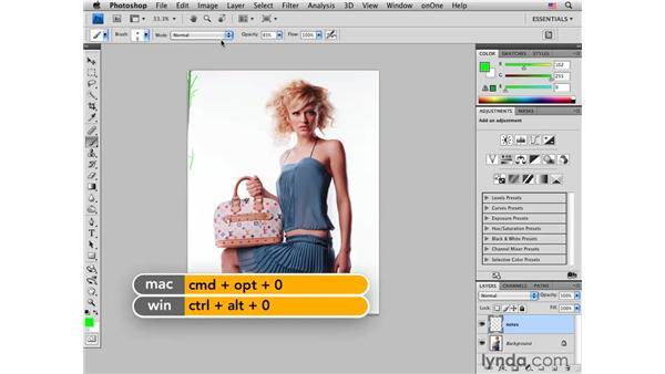 Retouching roadmap: Making notes: Photoshop CS4 Portrait Retouching Essential Training