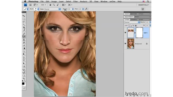 "Creating ""Hollywood eyes"": Photoshop CS4 Portrait Retouching Essential Training"