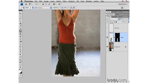 Flamenco project pt. 1: Modifying the waist: Photoshop CS4 Portrait Retouching Essential Training