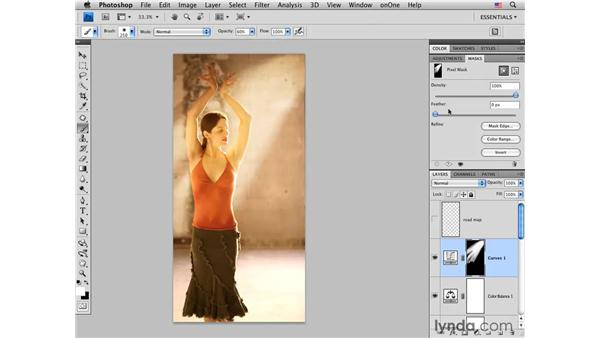 Flamenco project pt. 4: Color and tone: Photoshop CS4 Portrait Retouching Essential Training