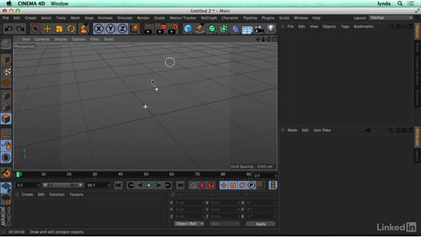 Understanding how 3D models are made: CINEMA 4D R17 Essential Training