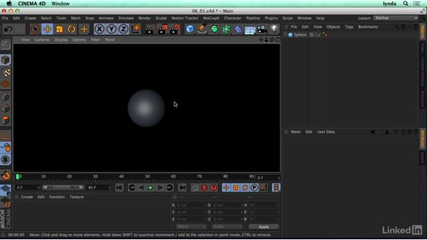 What makes up a 3D material?: CINEMA 4D R17 Essential Training