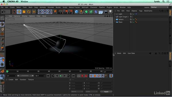 Concepts of 3D lighting: CINEMA 4D R17 Essential Training