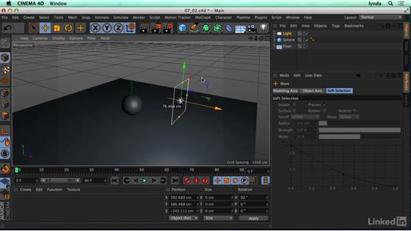 Type of C4D lights and why we use them: CINEMA 4D R17 Essential Training