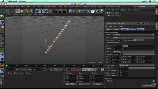 Using cloners: CINEMA 4D R17 Essential Training