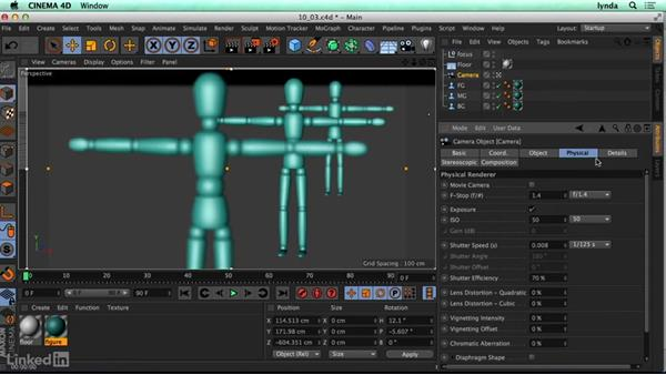 Introduction to the Physical Render engine: CINEMA 4D R17 Essential Training