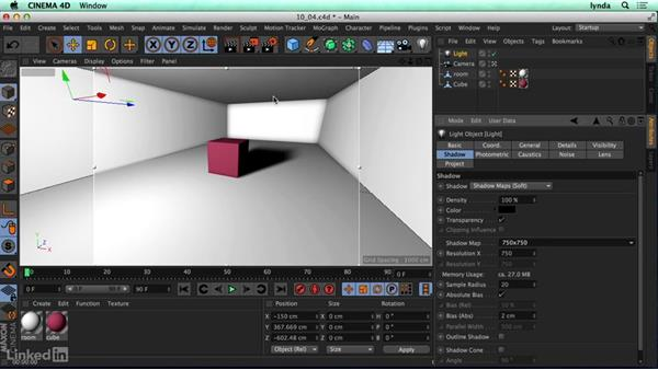 Tips to reduce render times: CINEMA 4D R17 Essential Training