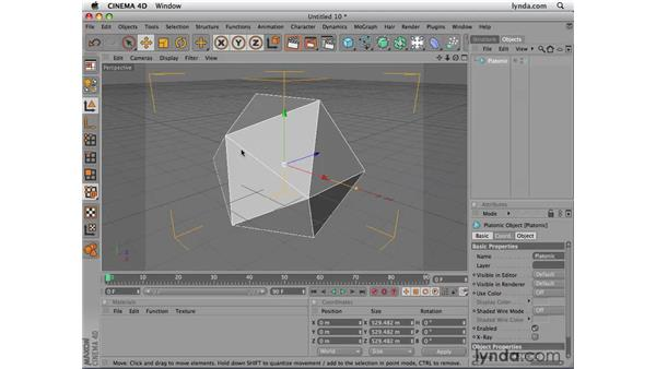 Understanding meshes: Photoshop CS4 Extended for 3D