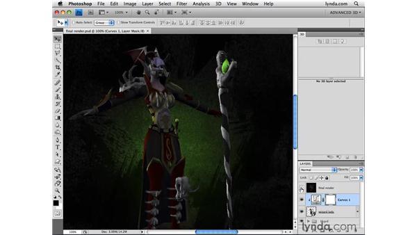 Understanding rendering: Photoshop CS4 Extended for 3D