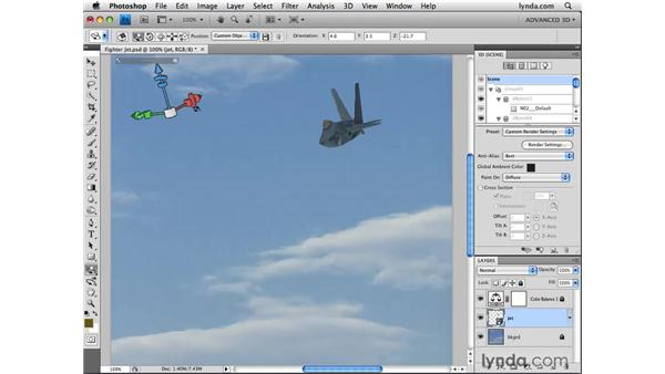 Resetting objects to their original state: Photoshop CS4 Extended for 3D