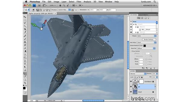 Revealing paint surfaces: Photoshop CS4 Extended for 3D