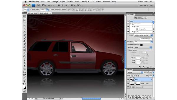 Understanding different material types: Photoshop CS4 Extended for 3D