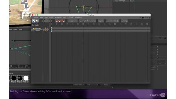 Refining the camera move: After Effects Apprentice 17: Video Walls in CINEMA 4D Lite