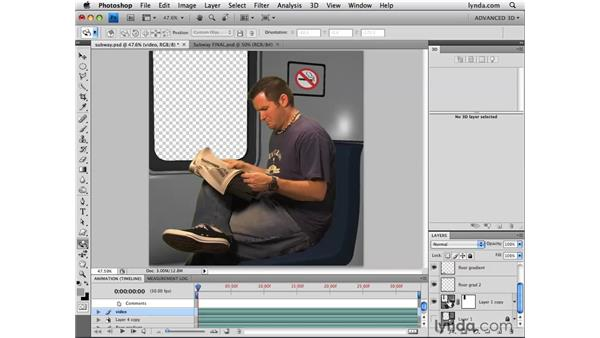 Compositing in Photoshop: Photoshop CS4 Extended for 3D