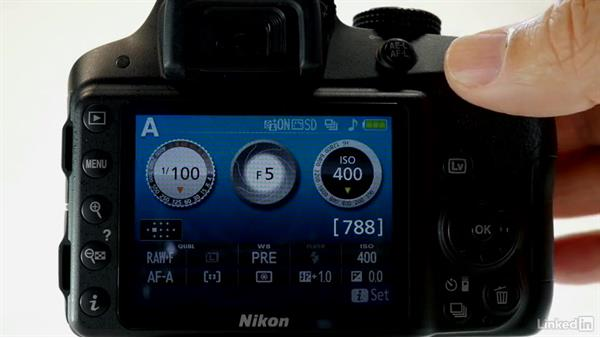 A guided tour: Buttons, ports, and controls: Up and Running with the Nikon D3200 and D3300