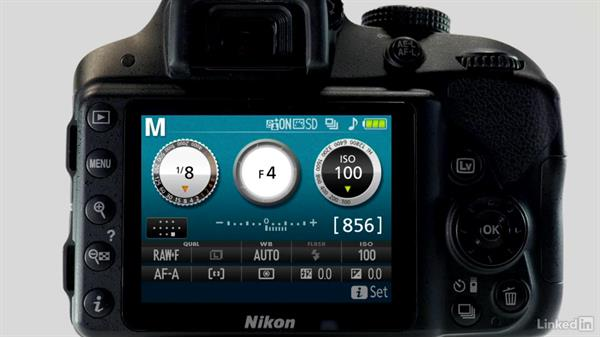 Manual mode: Up and Running with the Nikon D3200 and D3300