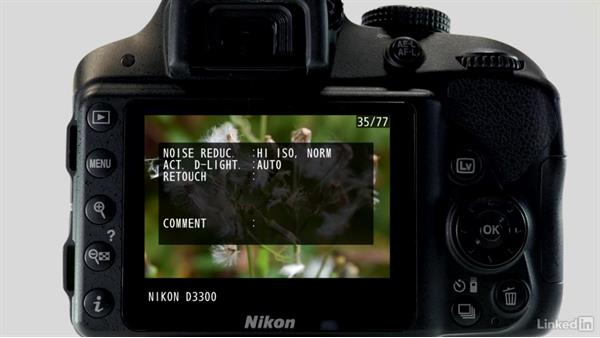 More playback options: Up and Running with the Nikon D3200 and D3300