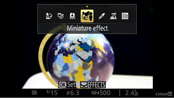 In camera effects: Up and Running with the Nikon D3200 and D3300