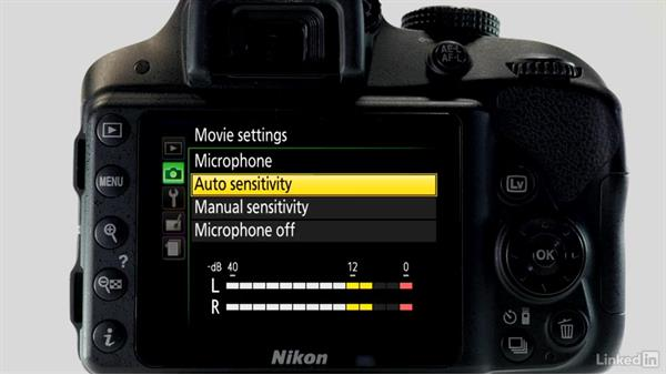 Recording movies: Up and Running with the Nikon D3200 and D3300