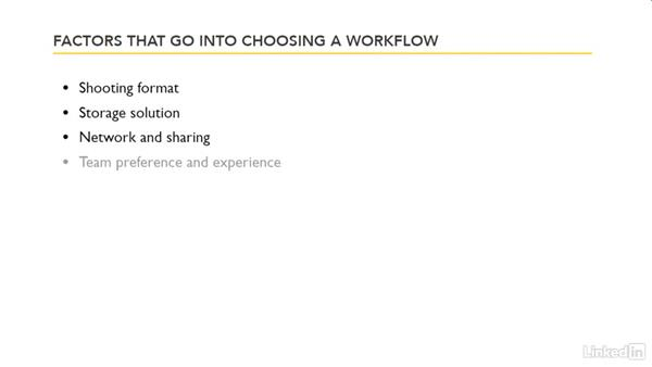 Factors that go into choosing a workflow: Premiere Pro Guru: Transcoding Workflows