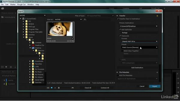 Working with highly compressed sources: Premiere Pro Guru: Transcoding Workflows