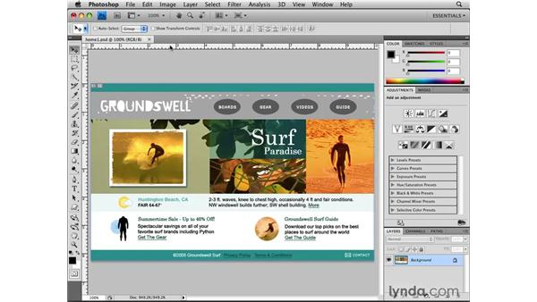Setting preferences for the web: Photoshop CS4 for the Web