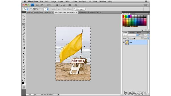 Creating a navigation bar with custom shape icons: Photoshop CS4 for the Web