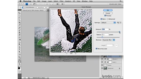 Sharpening for the web: Photoshop CS4 for the Web