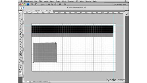 Storyboarding: Photoshop CS4 for the Web