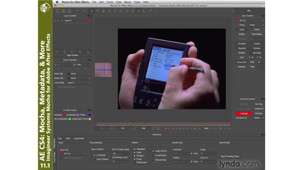 Mocha for After Effects: After Effects CS4 New Creative Techniques