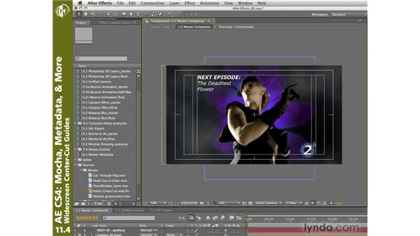 Widescreen center-cut guides: After Effects CS4 New Creative Techniques
