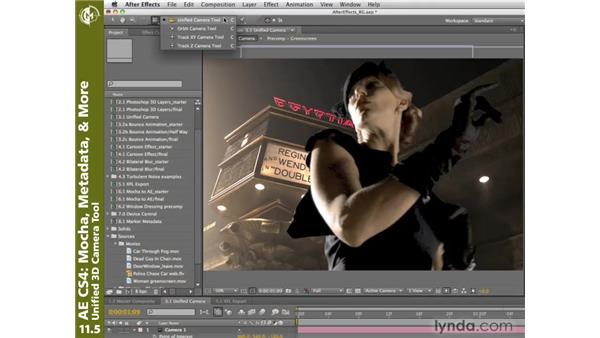 Unified 3D Camera tool: After Effects CS4 New Creative Techniques