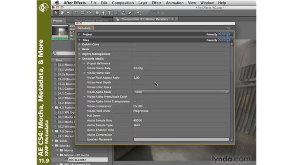 XMP metadata: After Effects CS4 New Creative Techniques